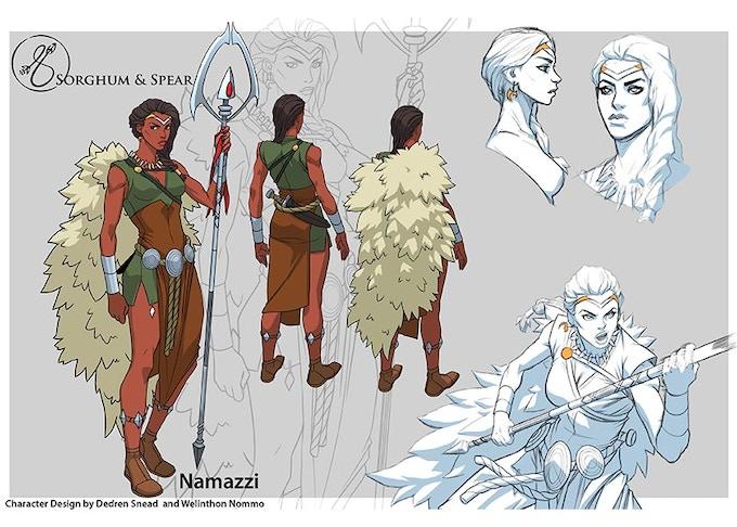 Namazzi the Warrior