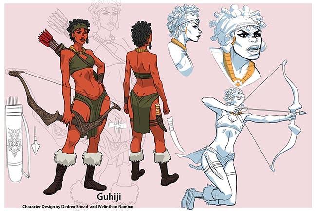 Guhiji the Huntress