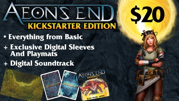 Same price as retail, but includes a copy of the Soundtrack + Kickstarter Exclusives!