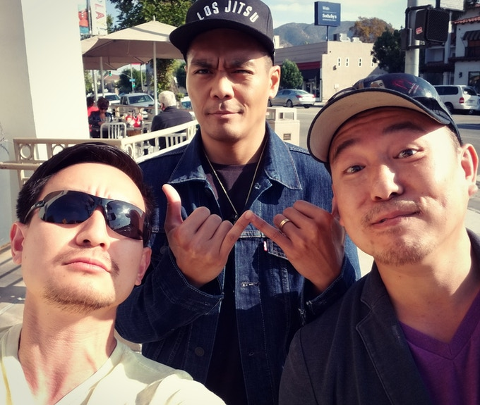 The OG's of ZeroGravity Stunts: our action director / fight choreographer Ken Quitugua and stunt coordinator Kerry Wong