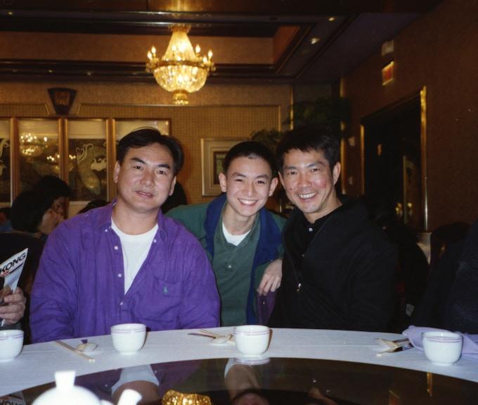 Action legends Corey Yuen and Yuen Biao