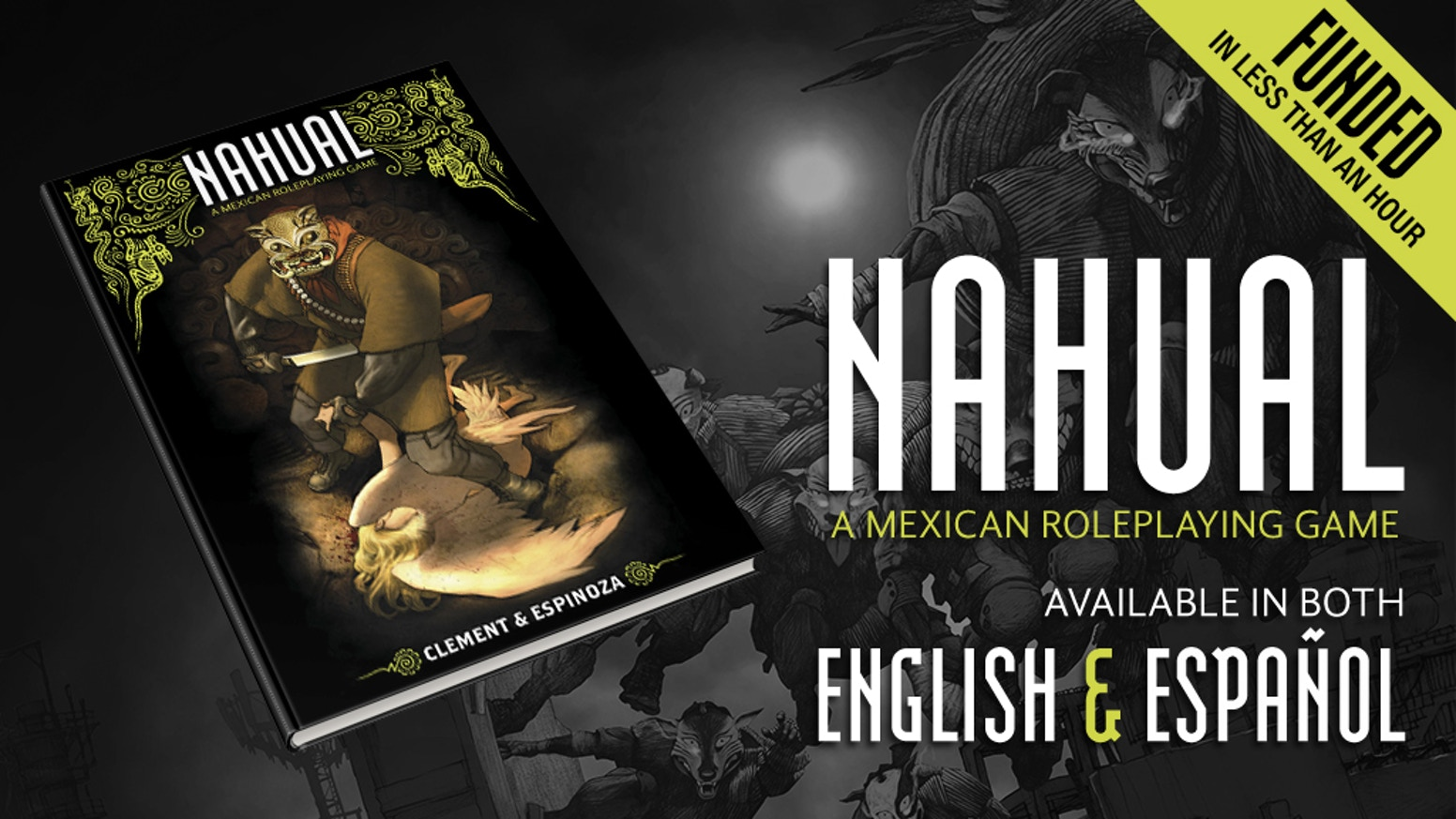 Nahual: A Tabletop RPG of Mexican Urban Fantasy by MIGUEL