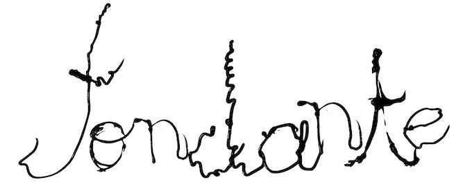[Fondante] lettering: Clara Pasteau