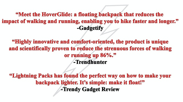 857231956d HoverGlide  World s First Floating Backpack by Lightning Packs ...