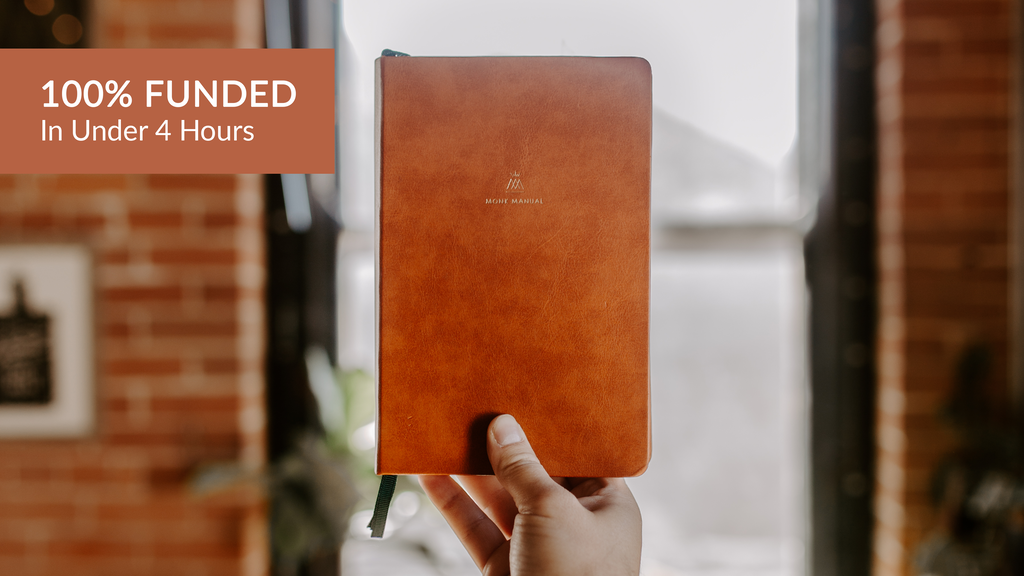 The Monk Manual Planner: A Daily System for Being + Doing