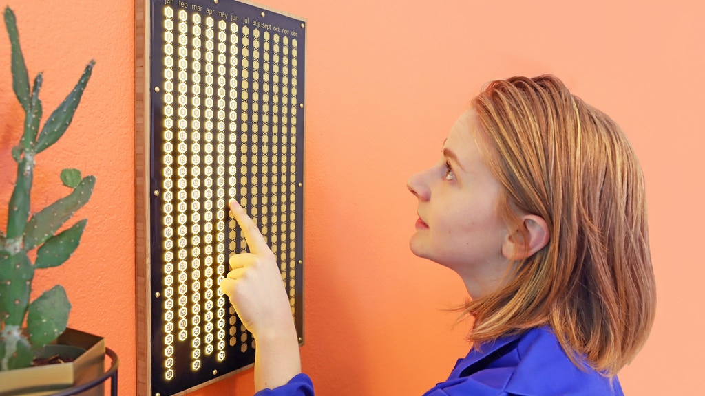 The Every Day Calendar by Simone Giertz — Kickstarter