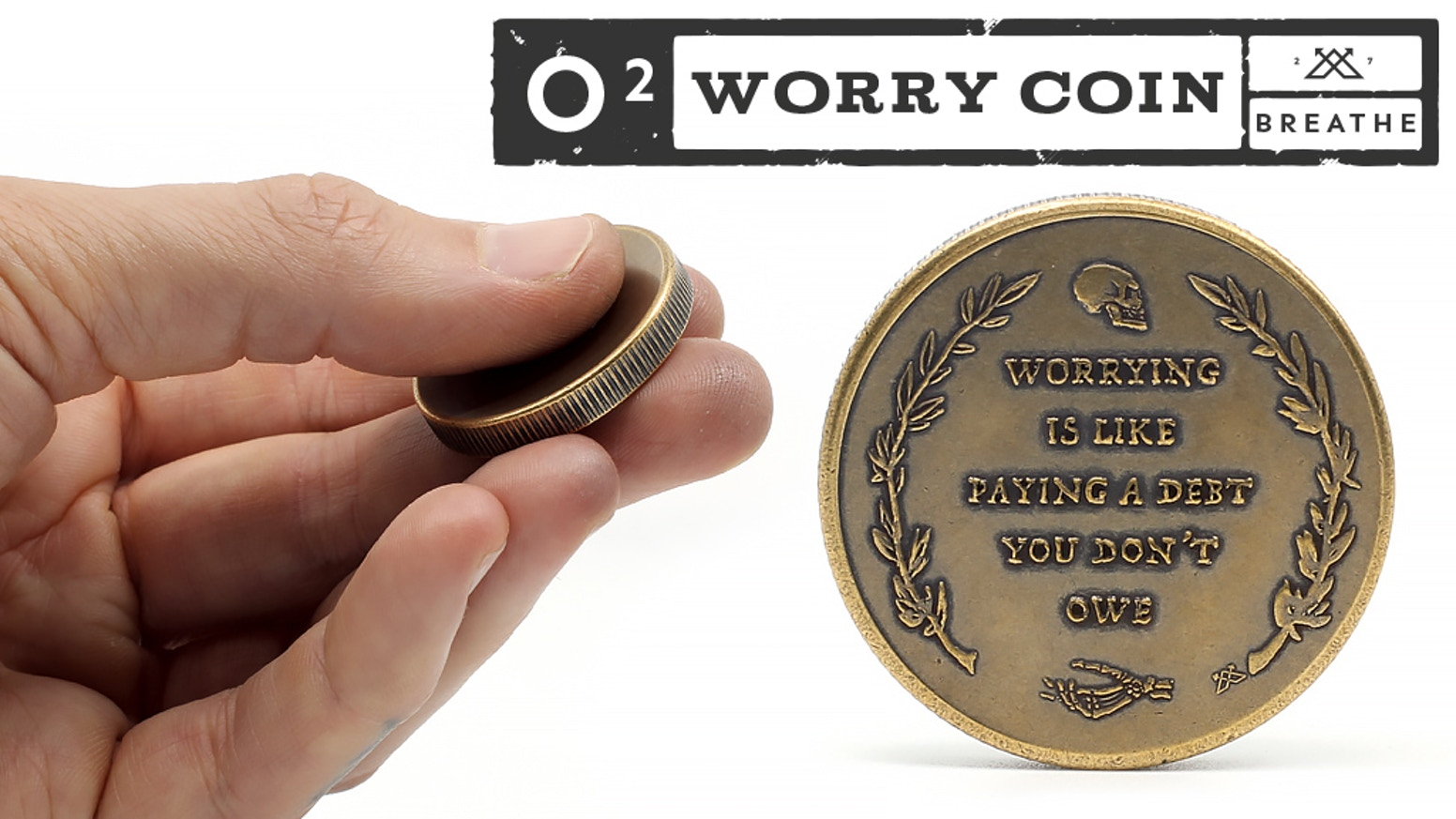 O2 Worry Coin by Anthony Lawson » Community — Kickstarter