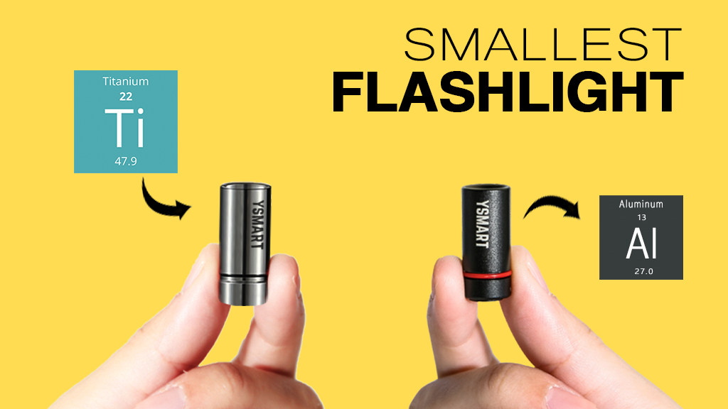 YSMART: Redefining EDC Flashlight project video thumbnail