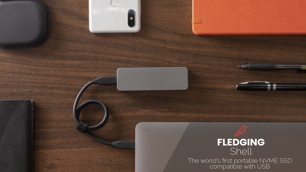 Fledging Shell: The Ultimate Portable SSD project video thumbnail