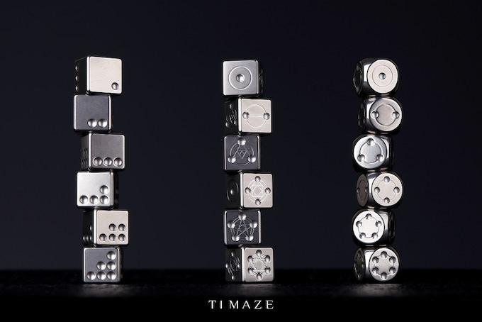 TTi-150 Ti Dice: 1.0 & 2.0 & 3.0