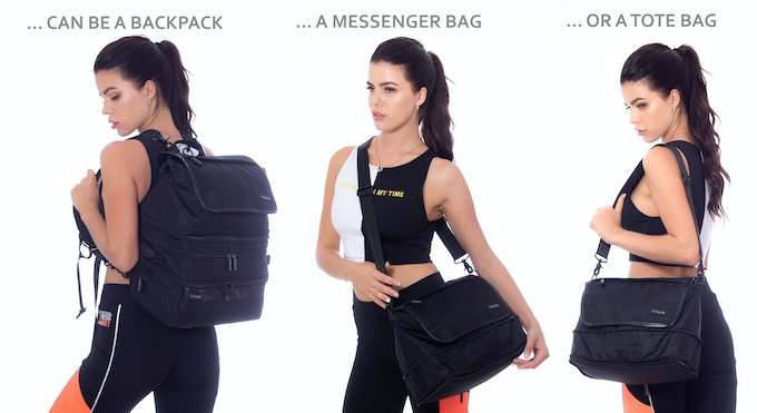 The Only Gym Bag You'll Ever Need