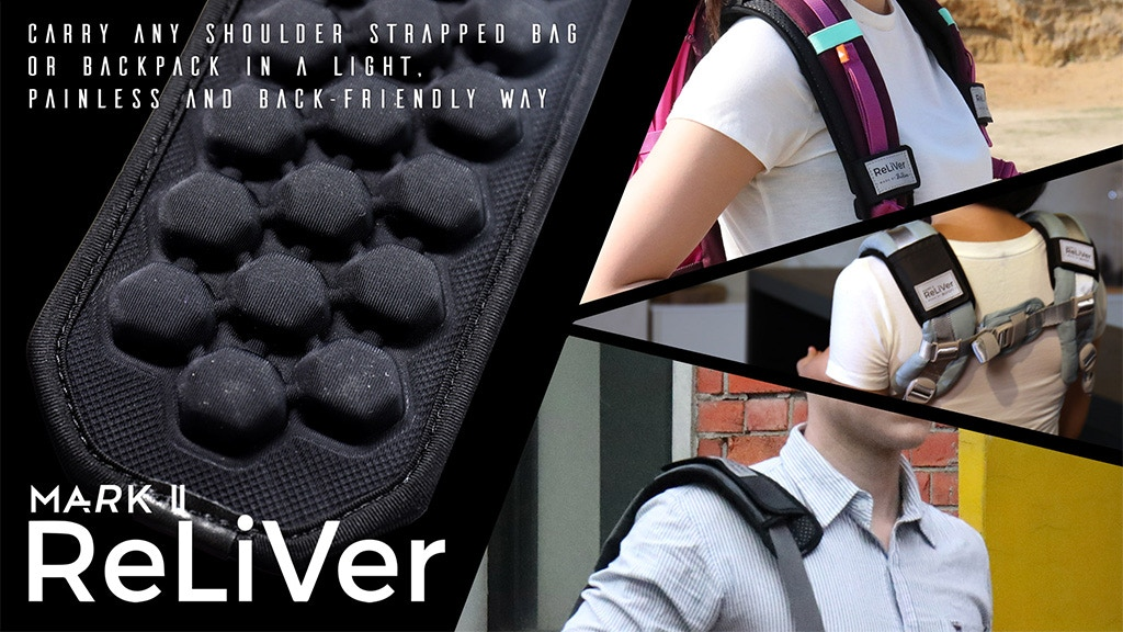 ReLiVer Mark II: Relieve Your Backpacking Weight Instantly project video thumbnail