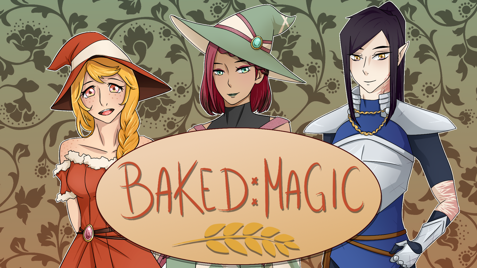 A yuri visual novel about a bakery, two witches, a knight, and some muffins.
