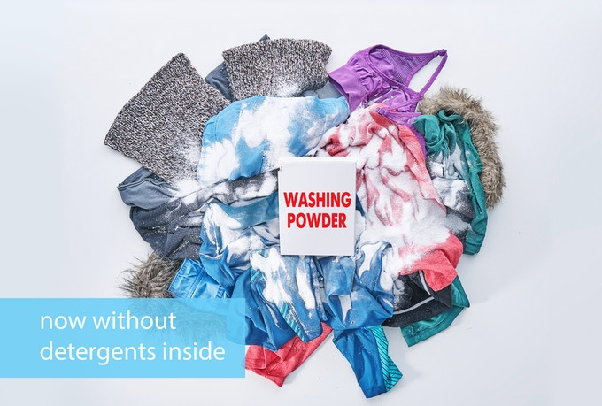 """Ironically the very detergents that we normally use to get our clothes """"clean"""" may actually be leaving them worse off than they were before we ran the wash."""