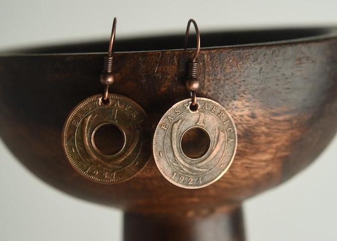 Promise Coin Earring Set