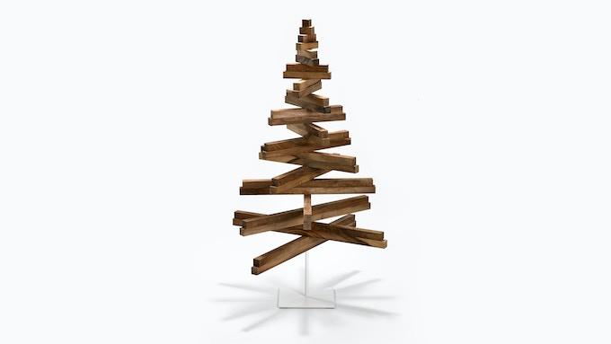 Wood Christmas Tree.Yelka The Minimalist Wooden Christmas Tree By Hello