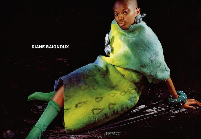 Typedesign: Guillaume Sbalchiero pour Diane Gaignoux (Logotype), dans R.D. No.1, Legibility (rubrique publicité).