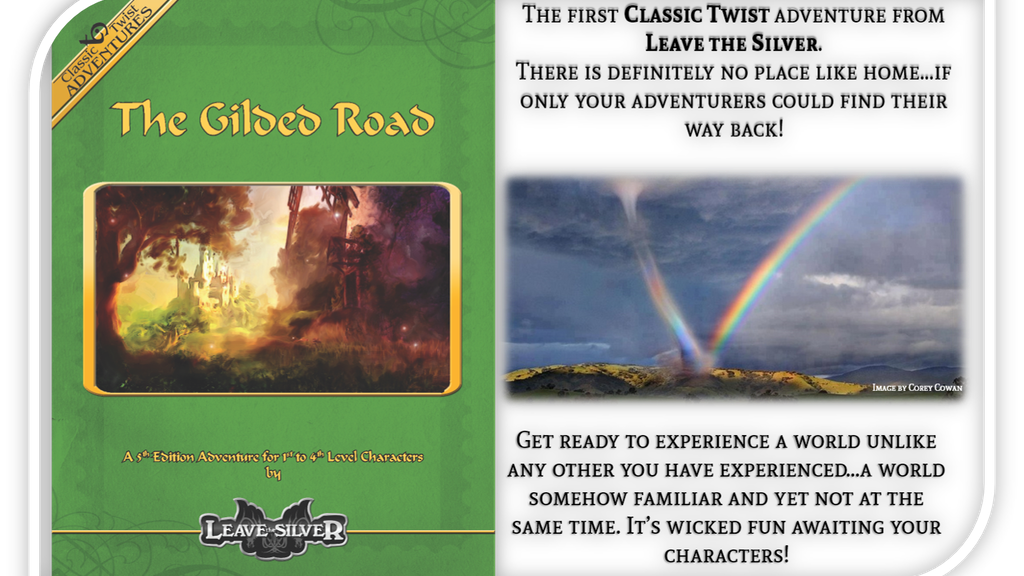 """""""The Gilded Road"""" - a 5E adventure by Leave the Silver project video thumbnail"""