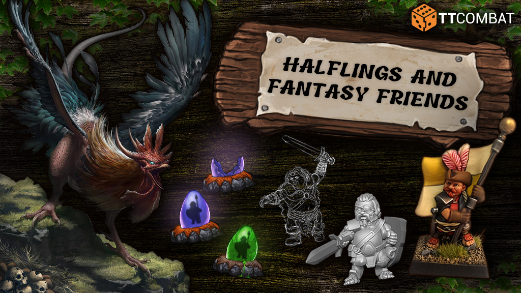 Halflings and fantasy friends! project video thumbnail