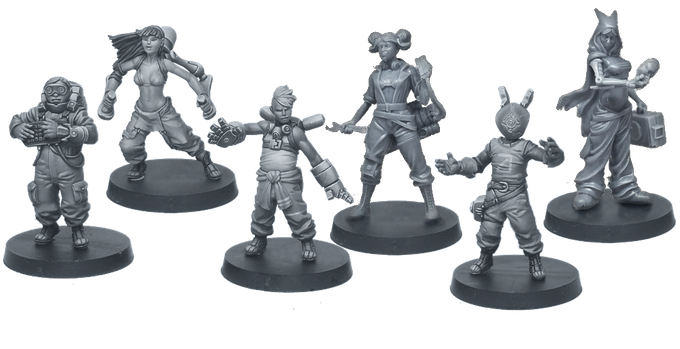 Meet Boris the hacker, Tyra the overclocker, Giuseppe the botmaster, Alice the mechanic, Benjamin the virus master, and Rouge the ninja.2.0. Each one has his proper strategy to get the upper hand.