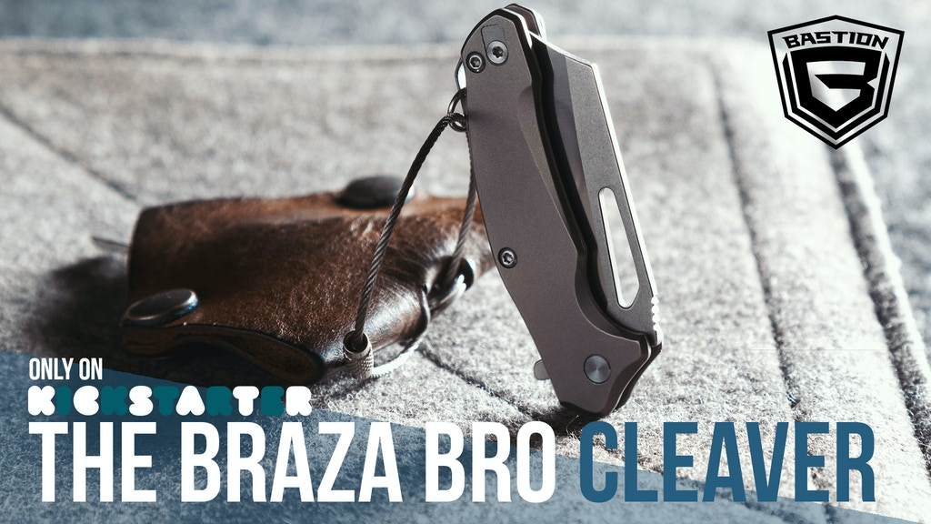 Braza Bro Cleaver | Bad Ass Pocket & Keychain EDC Mini Knife project video thumbnail