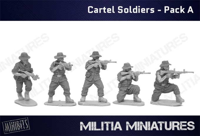 Cartel Soldiers - Pack A