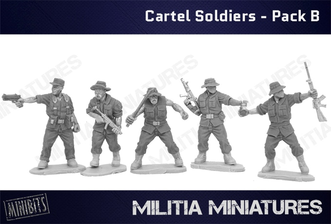 Cartel Soldiers - Pack B