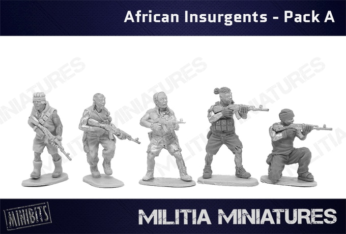 African Insurgents - Pack A