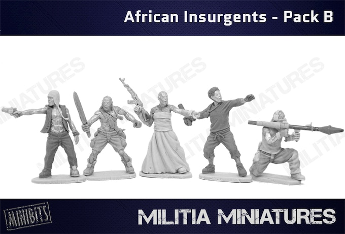 African Insurgents - Pack B