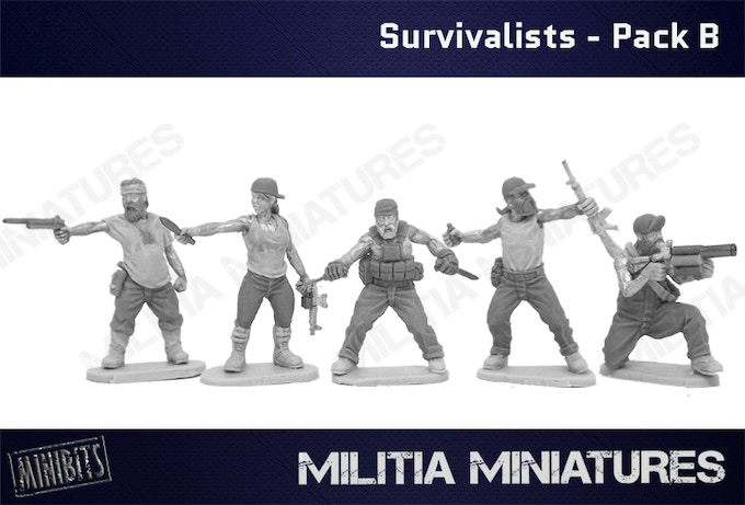American Survivalists - Pack B