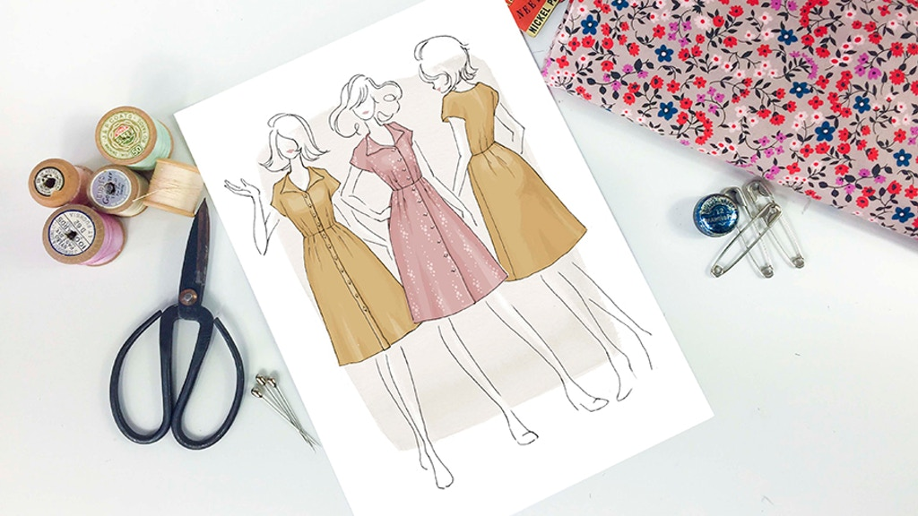 The Sorrel Dress by Jennifer Lauren - Paper Sewing Patterns project video thumbnail