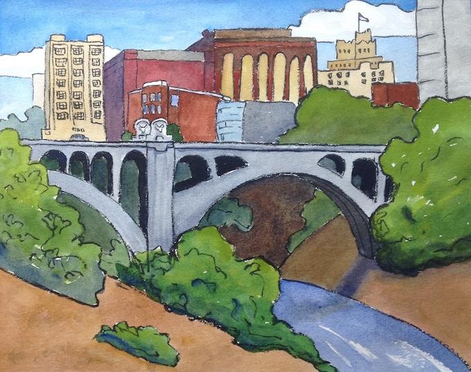 #3 Spokane City River View