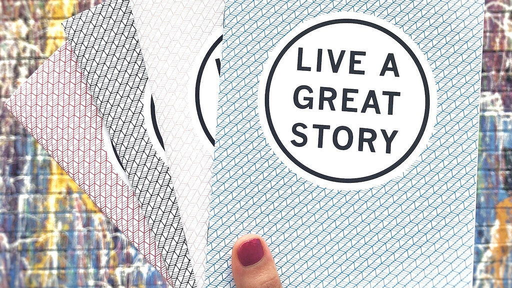 The World's First Monthly Journal for Living a Great Story📚 project video thumbnail