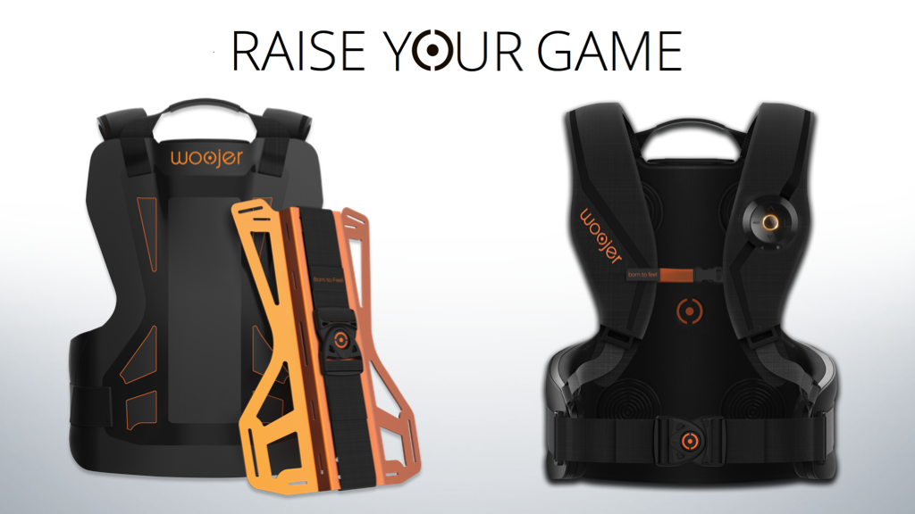 Woojer ryg™: The Most Powerful & Accurate Gaming & VR Vest. project video thumbnail