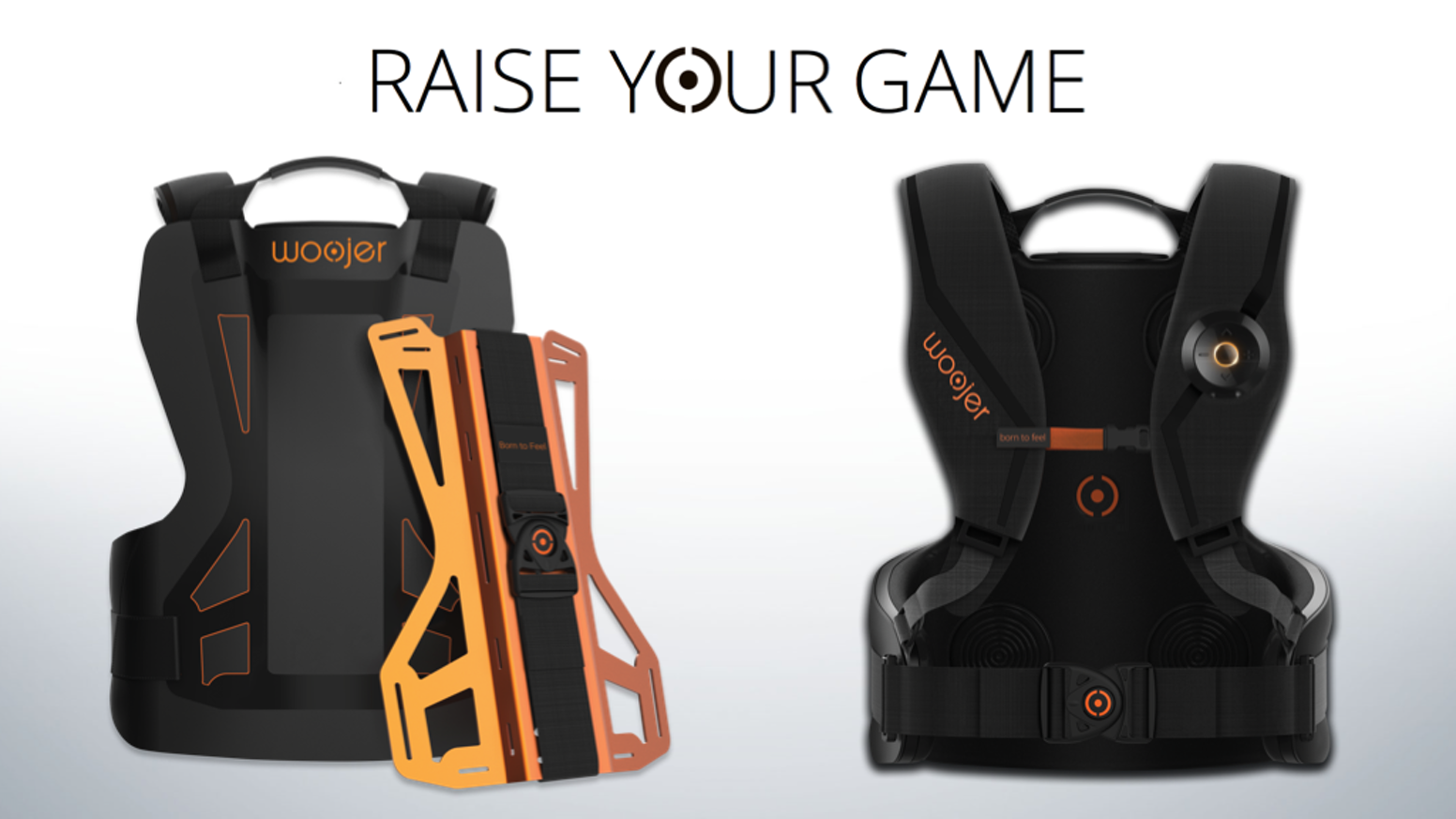 Woojer ryg™: The Most Powerful & Accurate Gaming & VR Vest