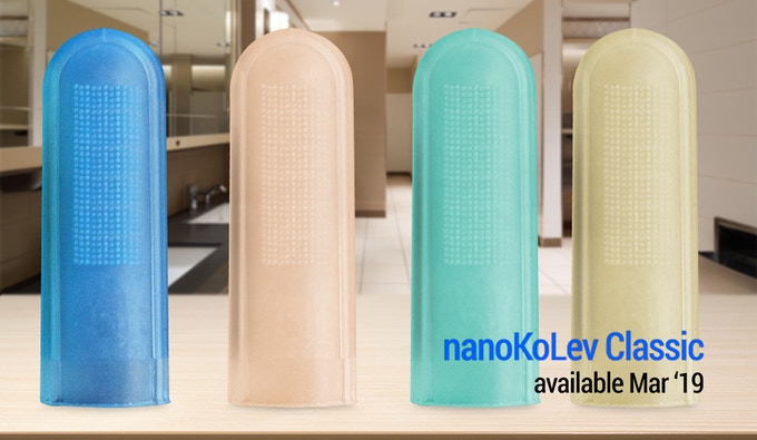 nanoKoLev CLASSIC is the first release of our EDC ultra soft bristle, foldable toothbrush.