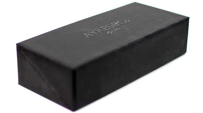 Each case is presented in a high quality embossed, hinged box and wrapped with a protective outer sleeve.