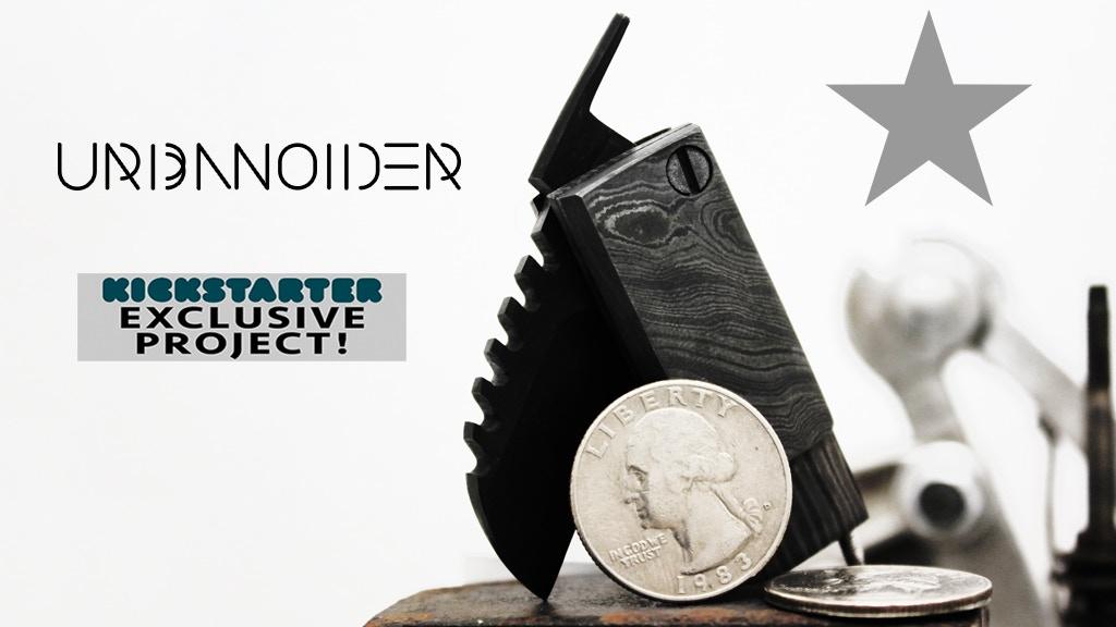 Urbanoider: EDC Compact Knife for Urban Wanderer's.