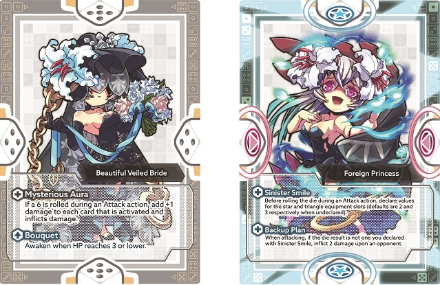 Normal Form (on the left) | Awakened Form (on the right)