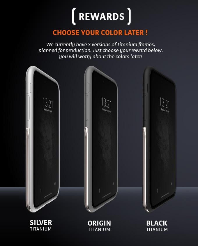 size 40 01e2f 9eeb8 Titanium case for iPhone X/Xs/Xs Max by AllRoad Mobile — Kickstarter