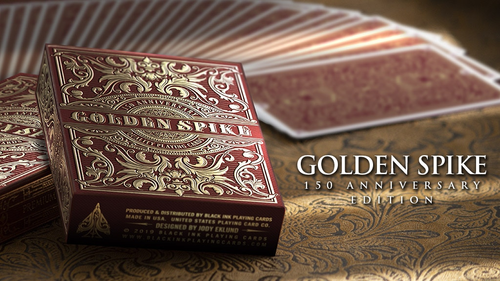 Golden Spike 150th Anniversary Edition - Printed by USPCC project video thumbnail