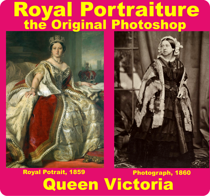 Explore how & why people alter their representations using royal portraiture as a jumping off point