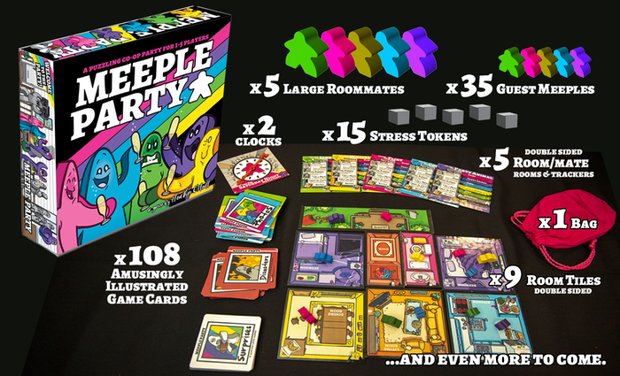 MEEPLE PARTY is a co-operative strategy puzzle game about throwing an epic PARTY! Let's get this MEEPLE PARTY started!