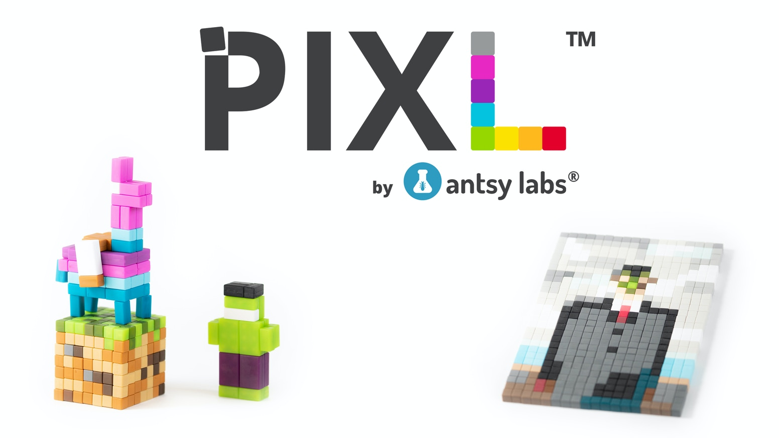 An infinitely expandable magnetic building system designed for 2D and 3D creations. Let your creative side out to play.