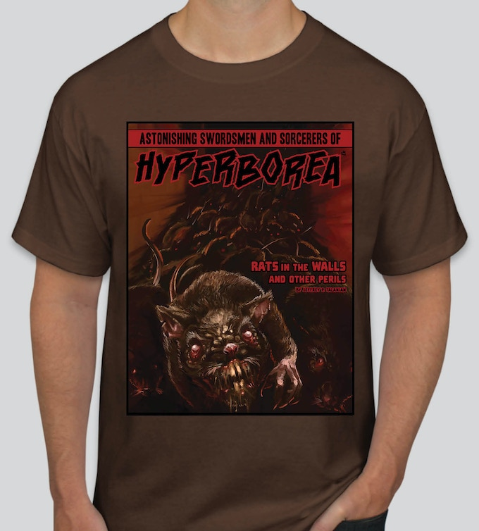 Rats in the Walls and Other Perils concept T-Shirt