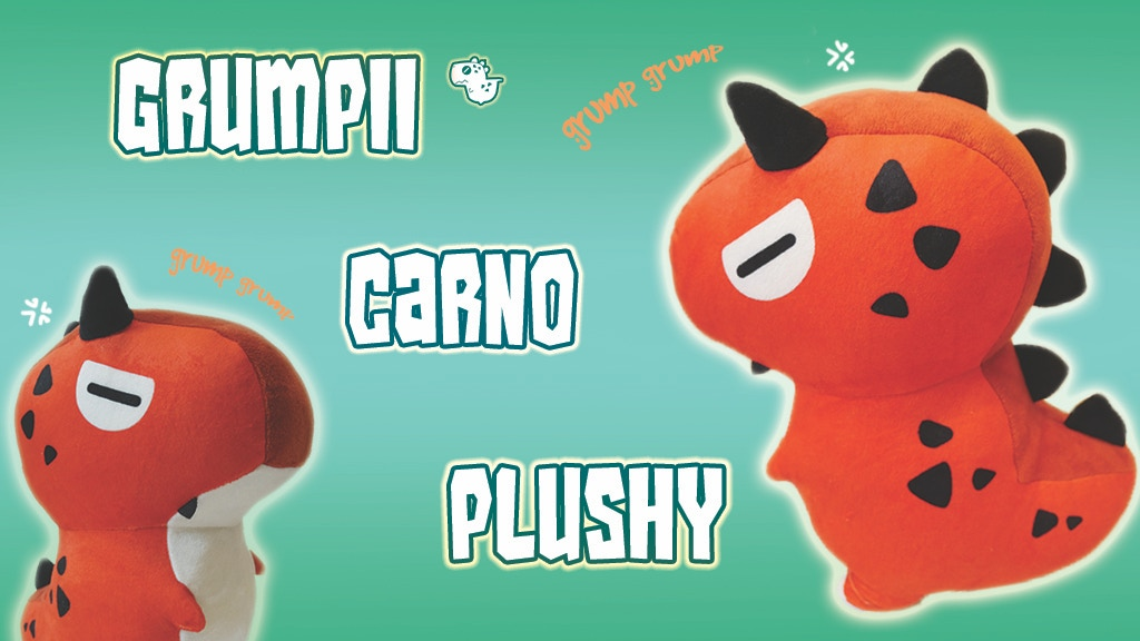 Project image for Dinosaur Plush The Grumpii Carno