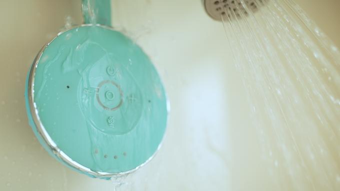 Aqua Dew The World S First Alexa Shower Speaker By