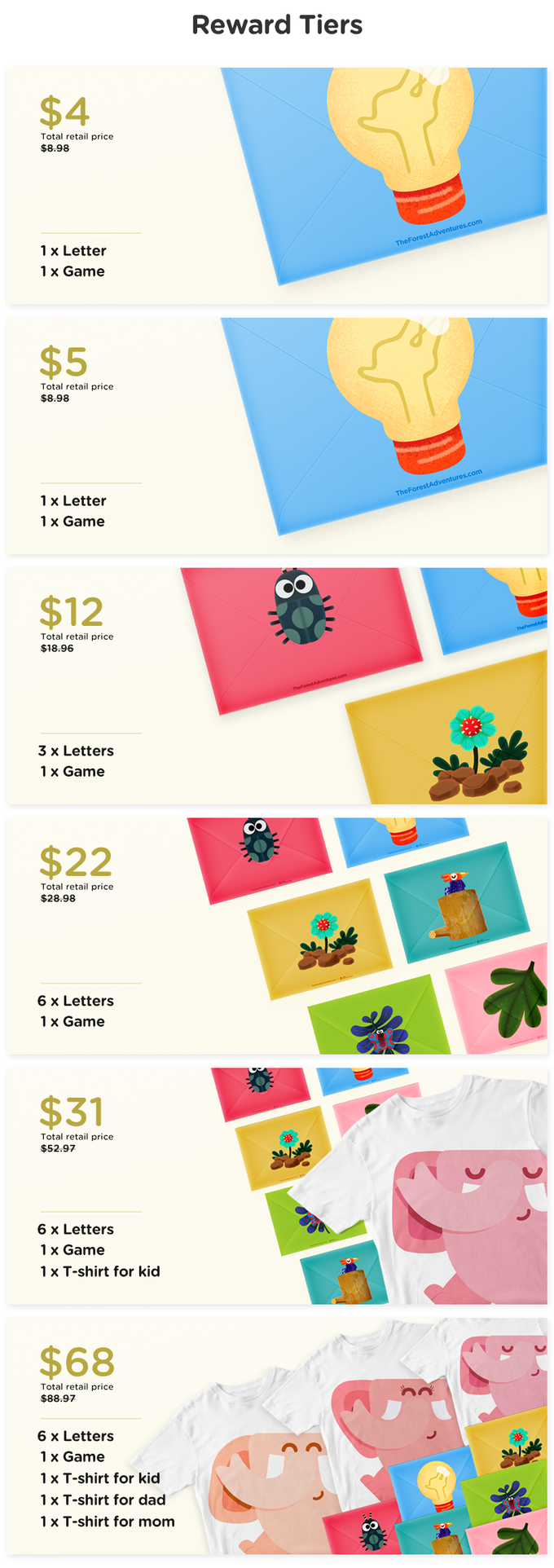 The Forest Adventures by Cliqers — Kickstarter