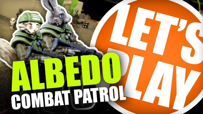 Albedo Combat Patrol, the 28mm Sci-Fi Miniatures Game by