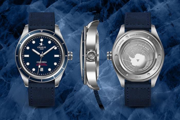 Swiss automatic movement ETA 2824-2 & quartz. 300m water resistant. Super-LumiNova®. Sapphire Glass. Assembled in France.